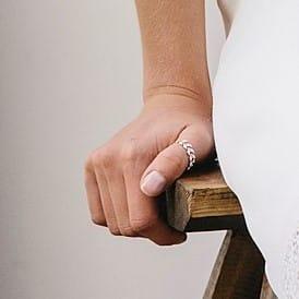 Bague de pouce accessoires pour mariée