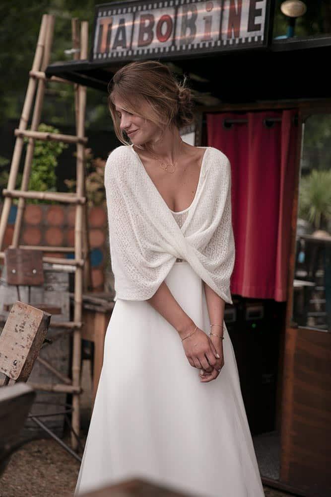 en soldes 9b7d6 514d2 Amarildine • Robe de mariée bohème - Collection L'instant