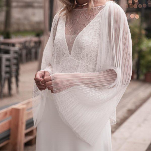 Blouse de mariage HANS accessoires robe de mariée