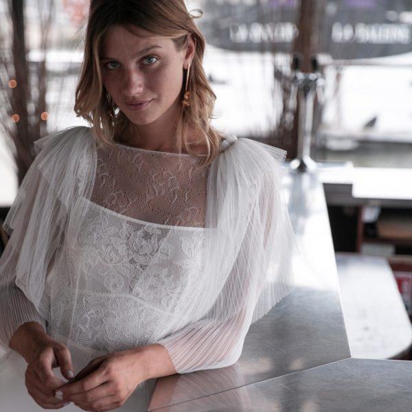 Blouse Hayden Accessoire pour robe de mariée