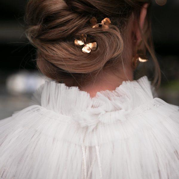Col Hug Accessoires pour robes de mariée de créatrice