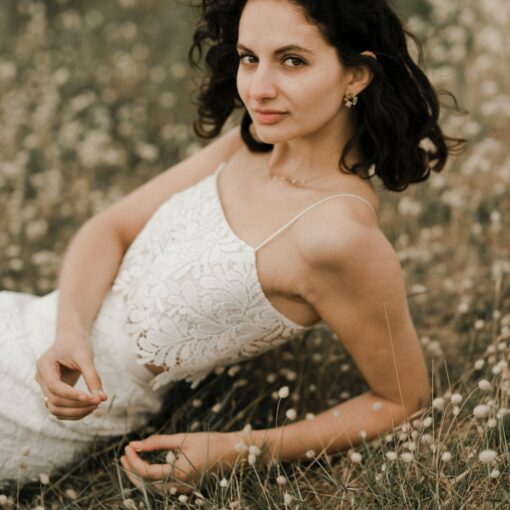 TOP de mariée JUST IN TIME par la créatrice Amarildine